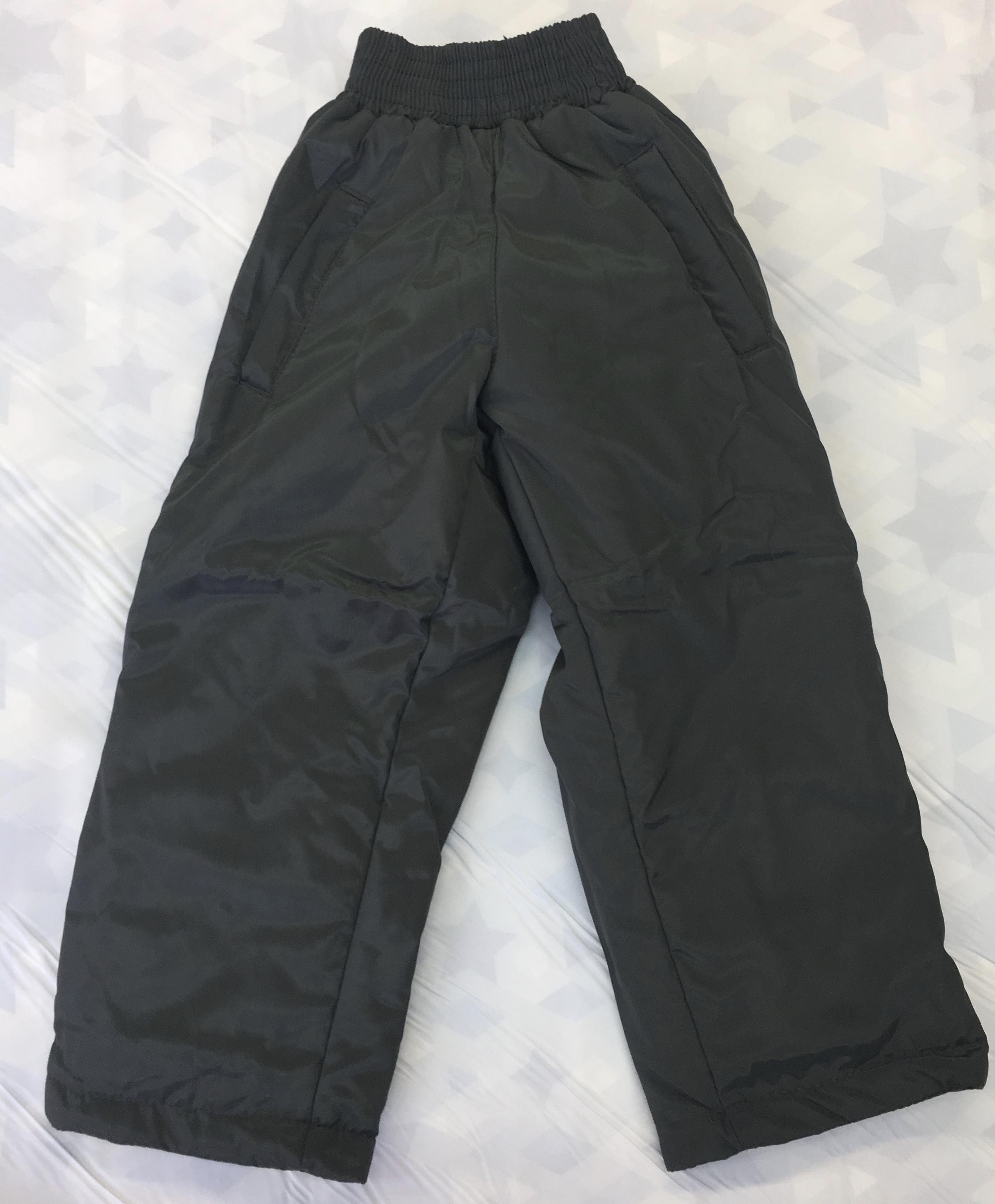 Детские утепленные брюки, УБ1