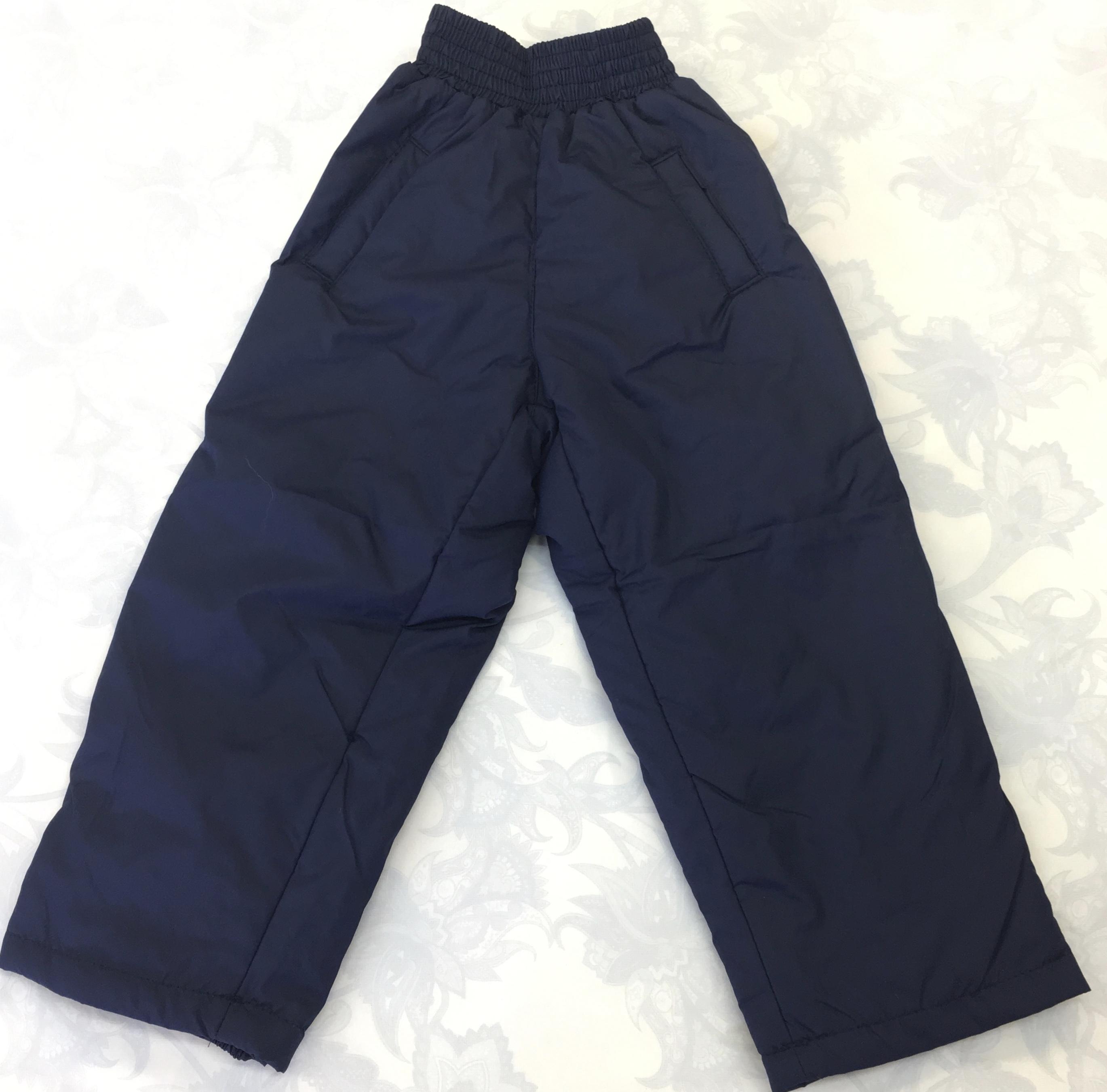 Детские утепленные брюки, УБ4