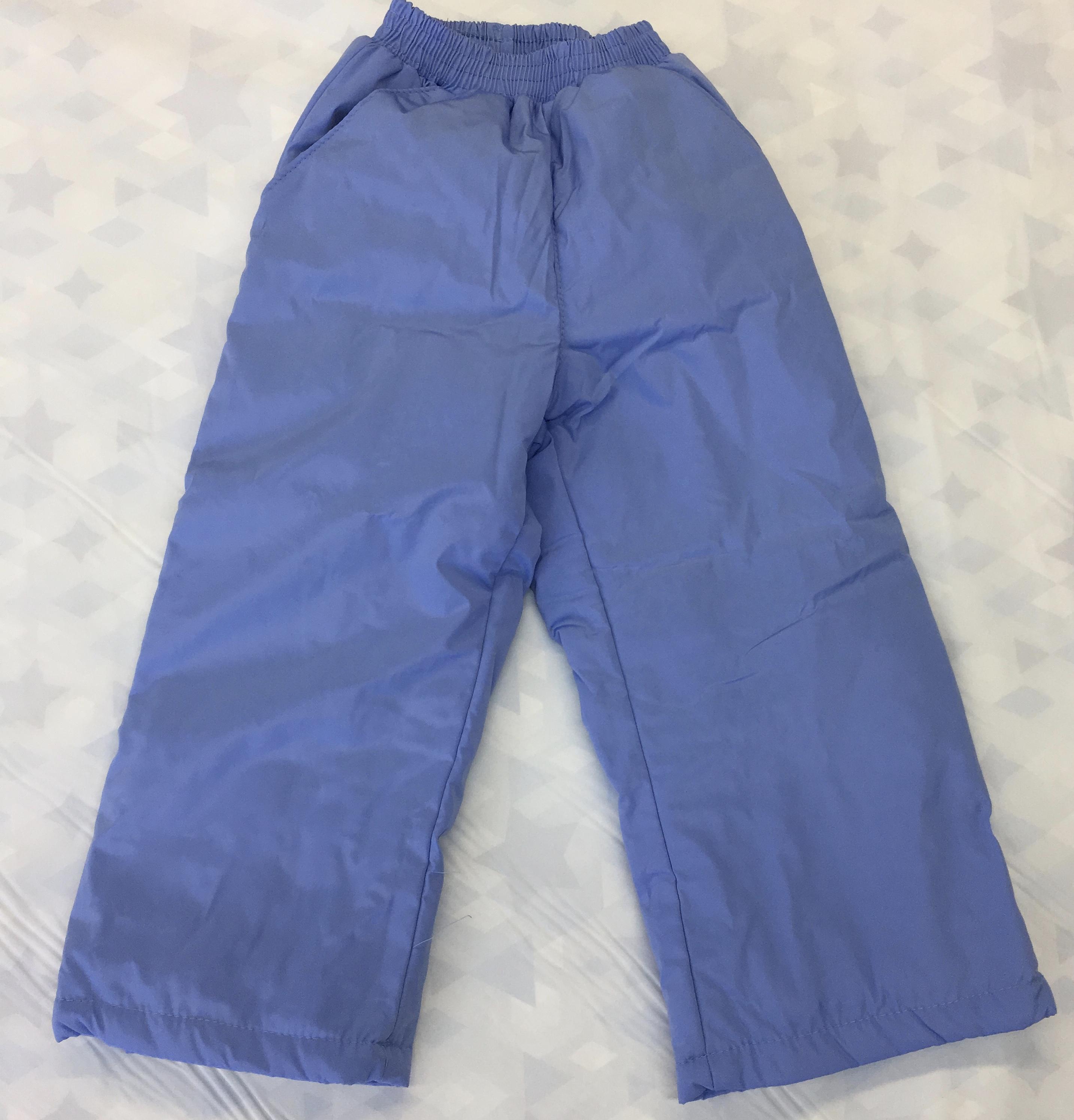 Детские утепленные брюки, УБ3